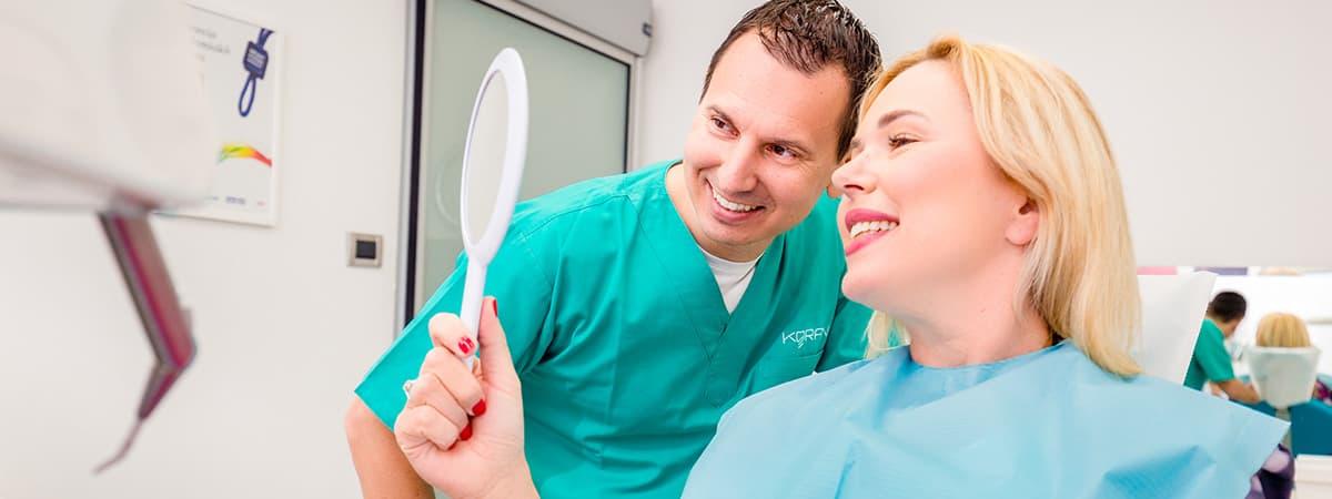Estetska dentalna medicina |Dentalna implantologija i estetika Koran